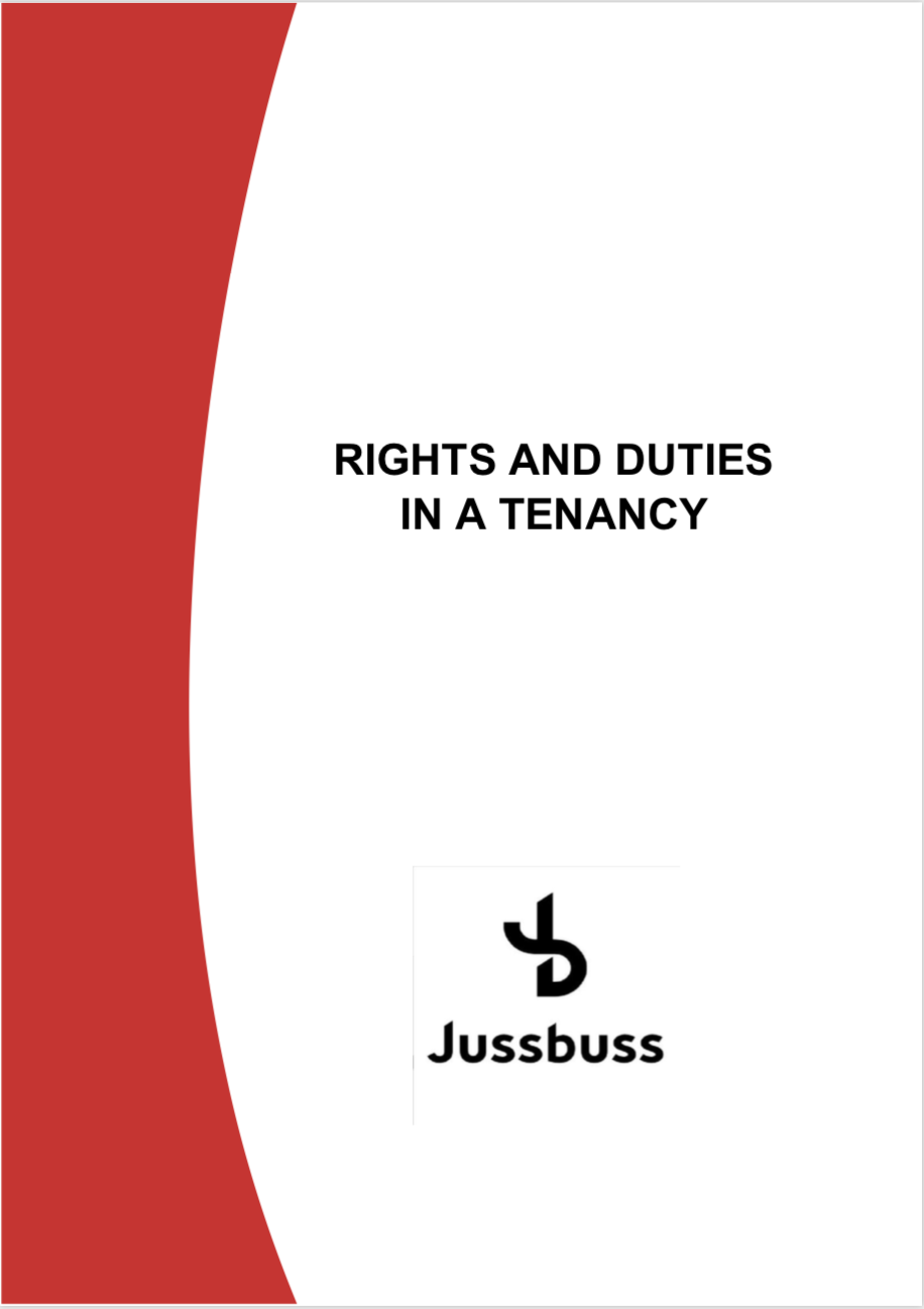 Rights and duties in a Tenancy