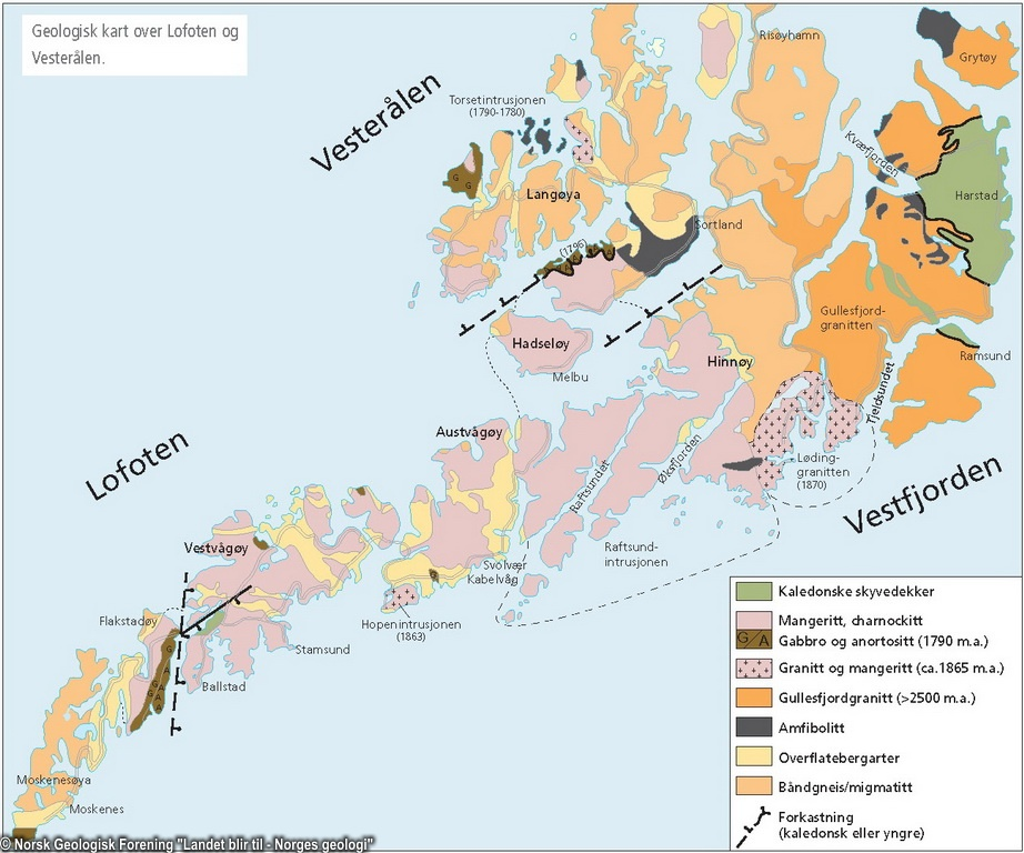 geologisk kart over norge Norsk Geologisk Forening