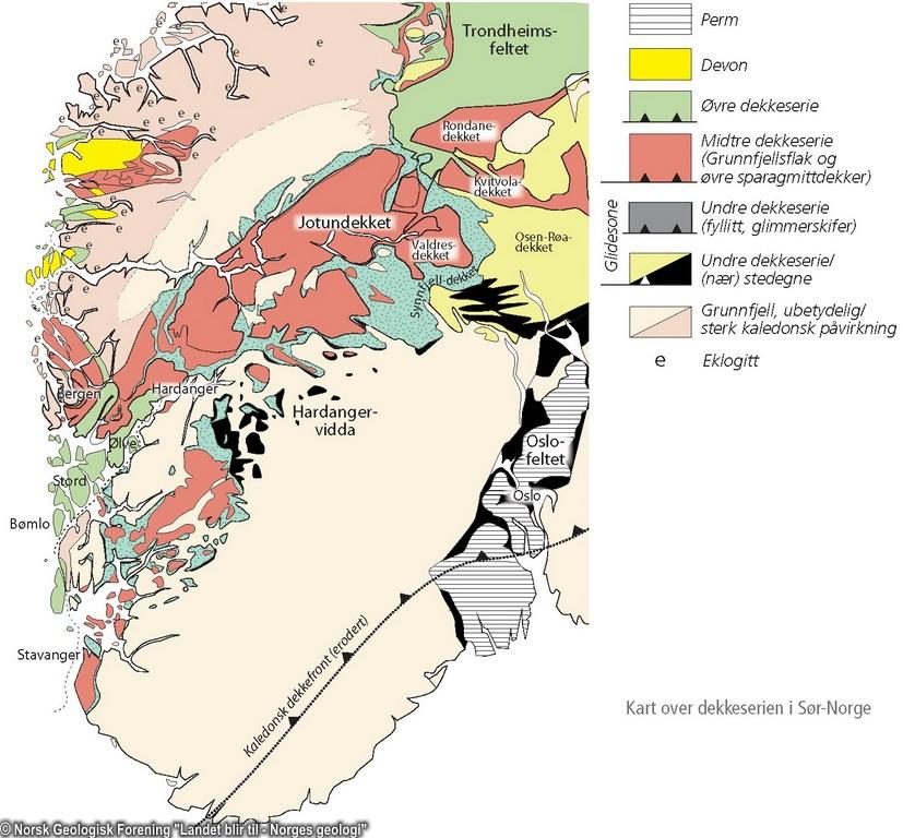 Norsk Geologisk Forening Landet Blir Til Norges Geologi